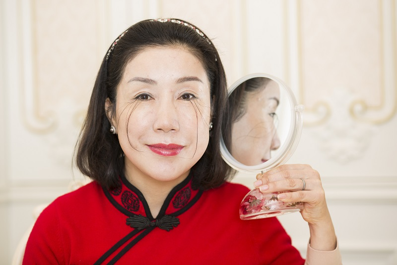 You Jianxia hat die längsten Wimpern. Foto: Guinness World Records 2016 Photo Credit: Jonathan Browning/Guinness World Records