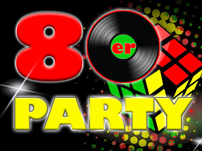 80er party szene38 for Accessoires 80er party