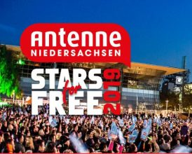 Sponsored by Antenne Niedersachsen: Stars for Free. Foto: StarsForFree/Antenne