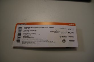TU Sommerfest_Ticket
